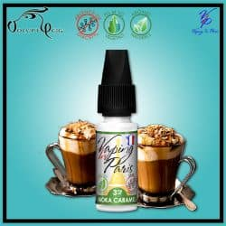 E-liquide MOKA CARAMEL 10ml VIP