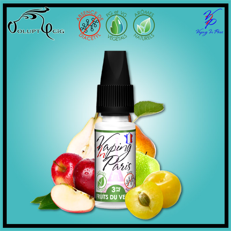 E-liquide FRUITS DU VERGER 10ml par VIP
