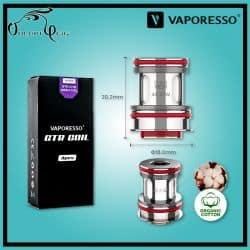 Résistances GTR MESH FORZ 0.4 Ohm Vaporesso - Cigarette électronique
