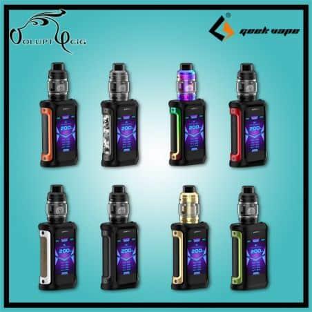 KIT cigarette électronique AEGIS X 200W + ZEUS SUBOHM Geekvape