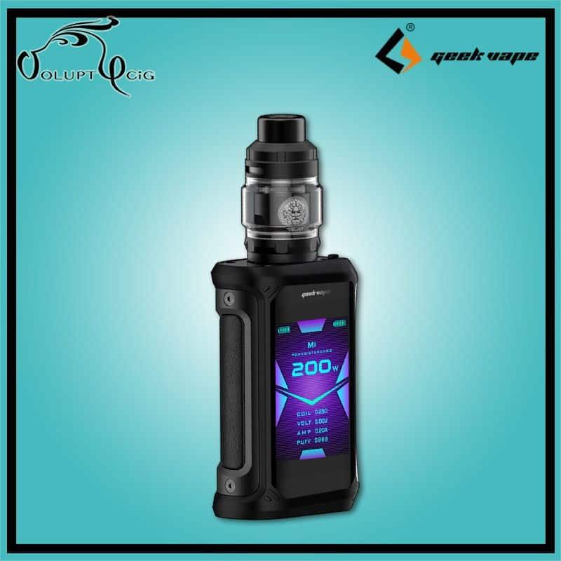 KIT AEGIS X 200W + ZEUS SUBOHM Geekvape Noir