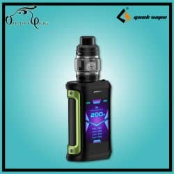 KIT AEGIS X 200W + ZEUS SUBOHM Geekvape Vert Black