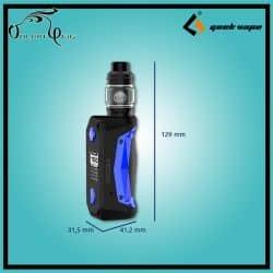 Kit cigarette électronique AEGIS Solo 100W + ZEUS SUBOHM Geekvape dimensions