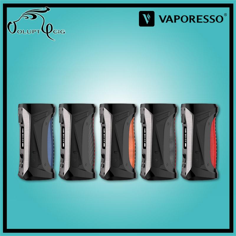 Box cigarette electronique FORZ TX80 Vaporesso Steel Blue