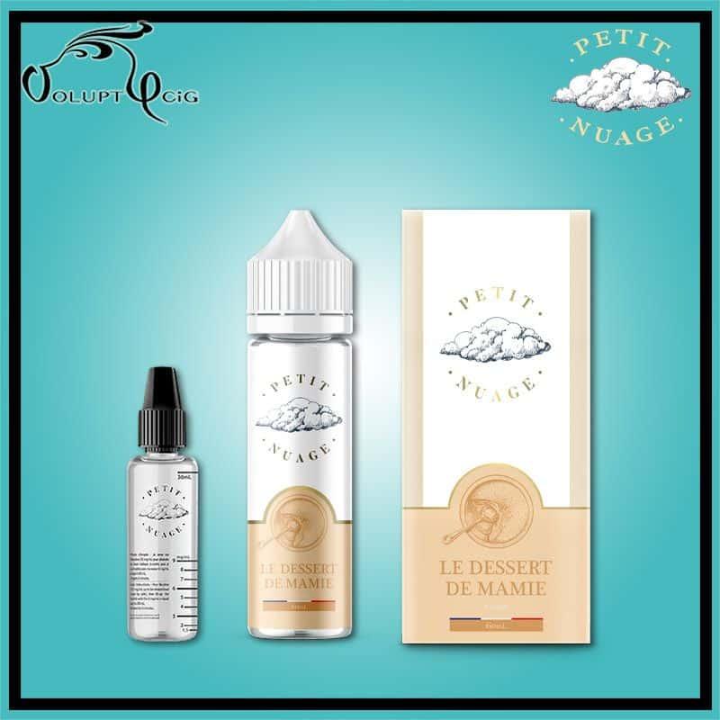 E-liquide LE DESSERT DE MAMIE  60 ml Petit Nuage
