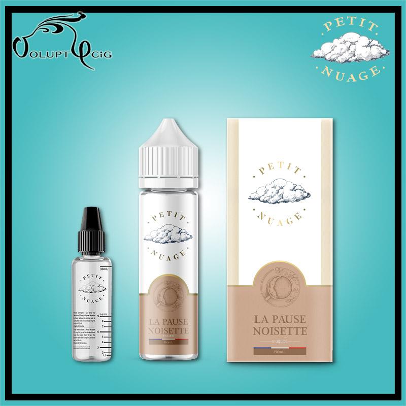 E-liquide LA PAUSE NOISETTE  60 ml Petit Nuage