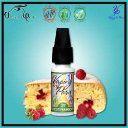 Eliquide BISCUIT FRAMBOISE 10ml VIP Vaping In Paris