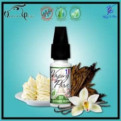 Eliquide CUSTARD BLEND 10ml Vaping In Paris VIP