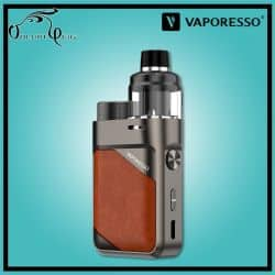 Kit SWAG PX80 Vaporesso Leather Brown