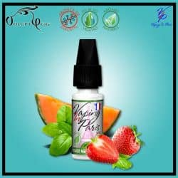 FRAISE MELON BASILIC 10ml Vaping In Paris