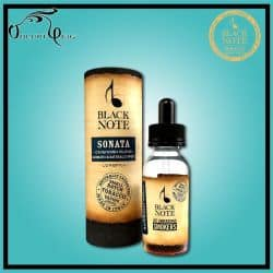 "SONATA ""longfill"" 10ml (+20 ml à booster) Black Note - Eliquide macérat tabac sans additf"