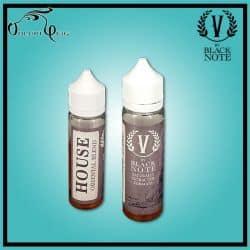 HOUSE (Izmir) 40 ml (20 ml à booster) V By Black Note Vaporificio - Eliquide macérat tabac sans additf