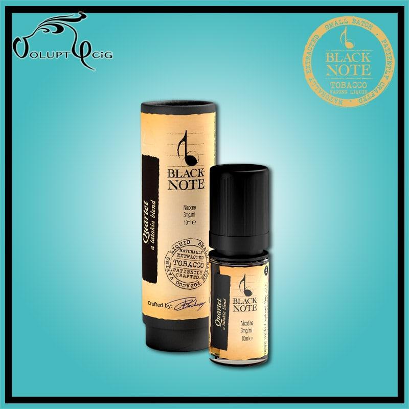 QUARTET 10ml Black Note - Eliquide macérat tabac sans additf