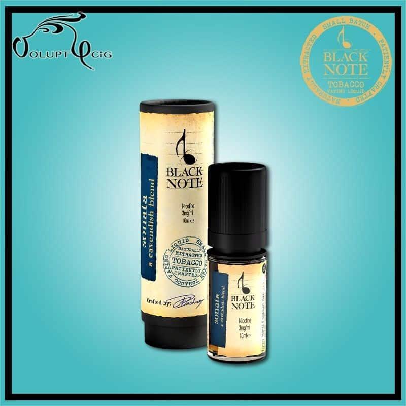 SONATA 10ml Black Note - Eliquide macérat tabac sans additf