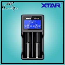Chargeur Accu VC2 XTAR USB - Cigarette électronique