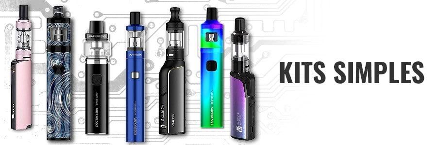 Kits e-cigarette simples