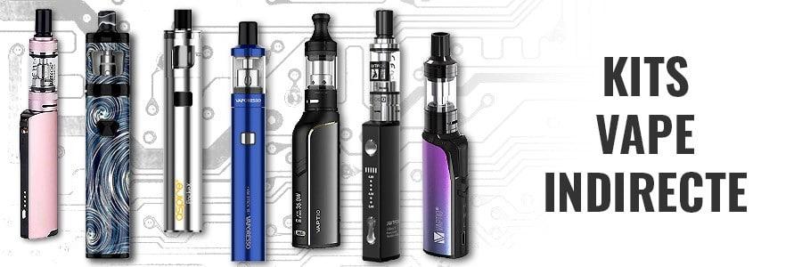E-cigarette vape indirecte