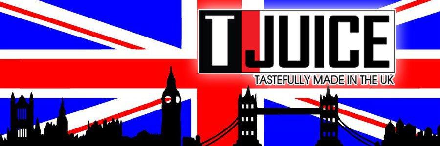 E-liquides Tjuice, Eliquides UK, E liquide anglais