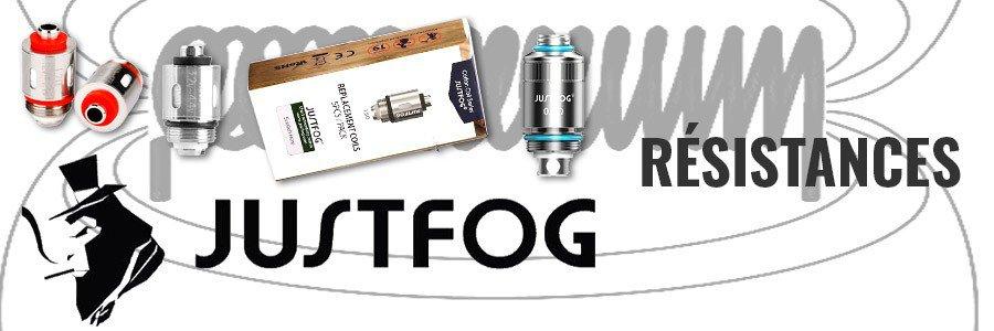 Têtes d'atomiseur clearomiseur cigarette electronique Justfog Q16