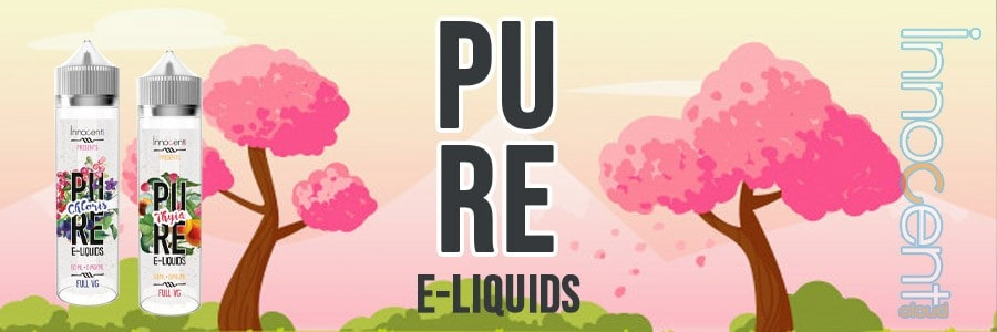 E-liquide Pure Innocent Cloud, eliquide 100% VG 100ml, e-liquide fabriqué en France