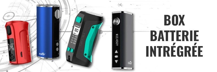 Box cigarette électronique batterie intégrée, box e-cigarette avec batterie