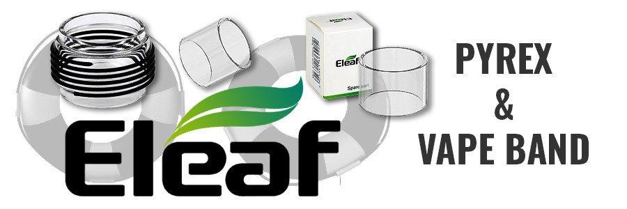 Pyrex verres rechange cigarette électronique Eleaf