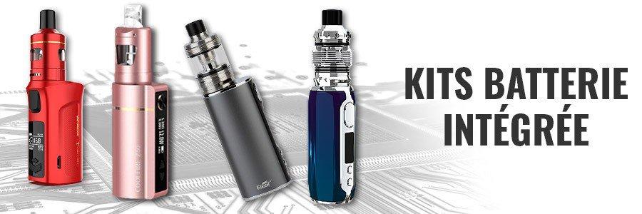 Cigarettes électroniques batterie intégrée