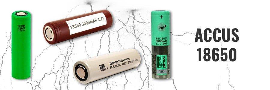 accu 18650 cigarette electronique, ecig, e-cigarette