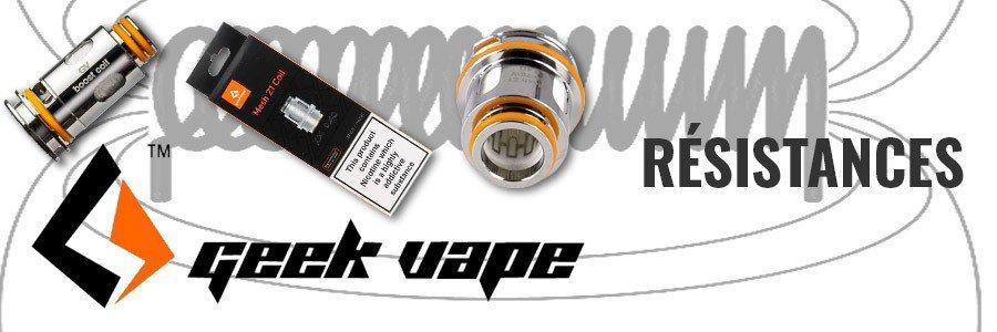 Résistance cigarette electronique clearomiseur Geek Vape