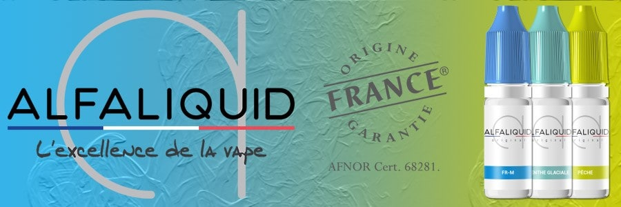 Alfaliquid - Alfaliquide - E-liquide Fabrication Française