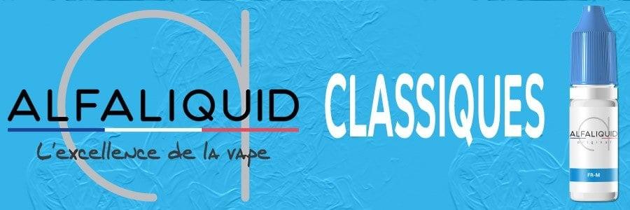 E liquide Classic Alfaliquid, e liquide  100% français