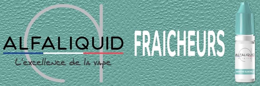 E liquides Alfaliquid fraicheur