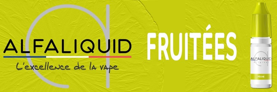 E liquide Alfaliquid fruité 100% français