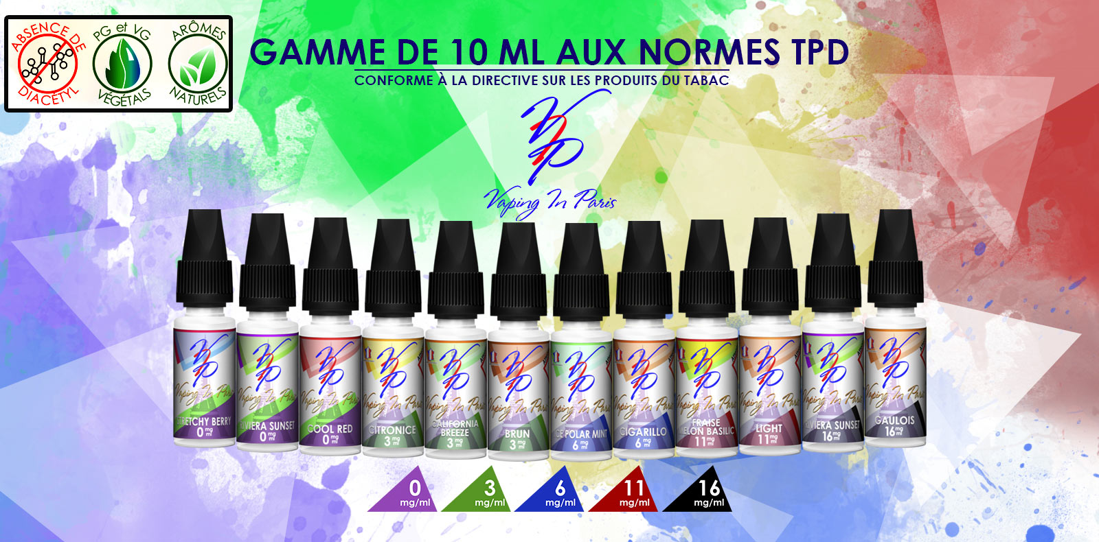 E-liquide pour cigarette electronique Vaping In Paris